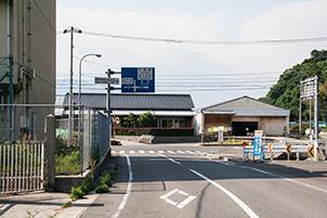 大浦港 蒲刈支所方面(右折)