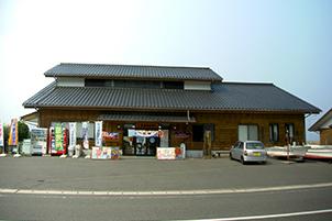 蒲刈水産物直売所(目的地)